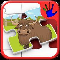 Kinder Zoo Tier Puzzle Icon