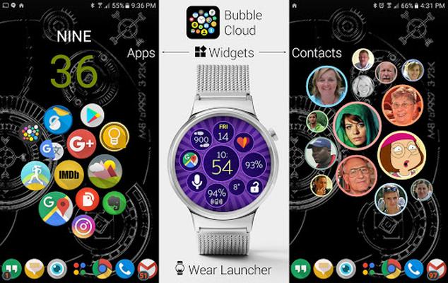 Image 25 of Bubble Cloud Widgets + Wear