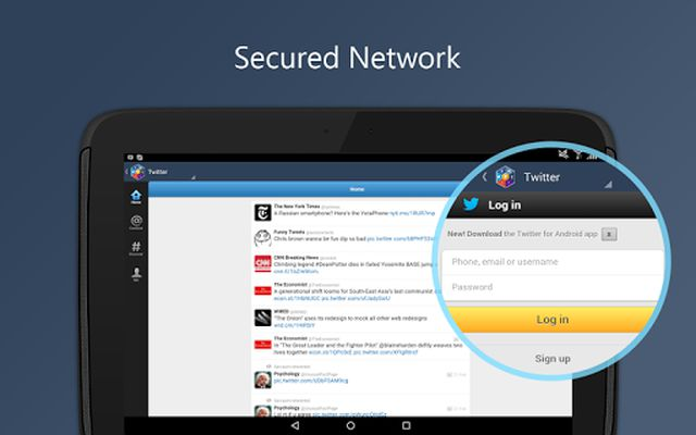Social Media Vault screenshot apk 1