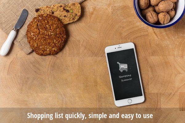 Shopping Scan Video Shopping List