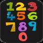 Раскраска для детей - Цифры 1.0.0.22