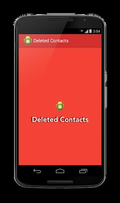 Image 3 of Deleted Contacts