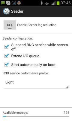 Seeder screenshot apk 1