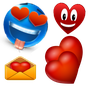 emoticonos Love Plus