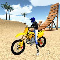 Motocross Beach Jumping 3D Simgesi