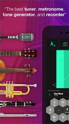 Image 3 of Tunable: Tuner, Metronome, Rec