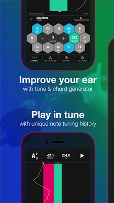 Image 2 of Tunable: Tuner, Metronome, Rec