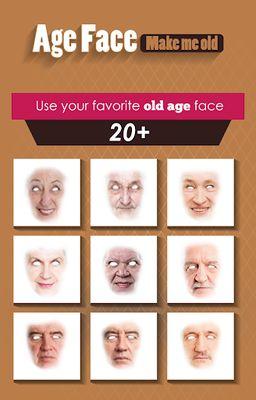 Image 1 of Old Face - Make me OLD