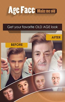 Old Face Picture - Make me OLD