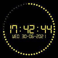 Иконка Clock wallpaper (studio clock)