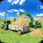 Tractor agrícola y Excavadora