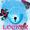 GO Locker Theme borboleta azul