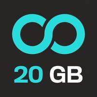 100 GB Kostenloser Backup Icon