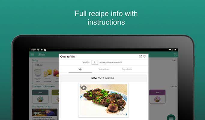 Image 7 of Fitness Meal Planner