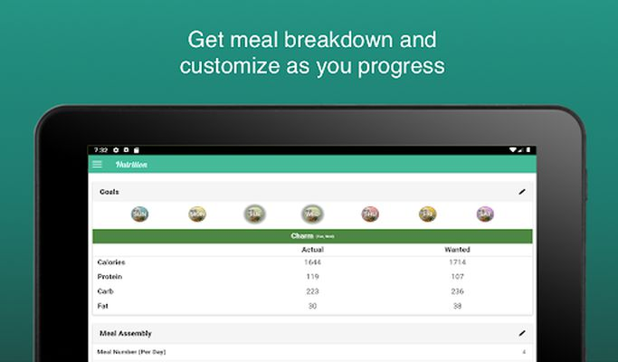 Image 5 of Fitness Meal Planner