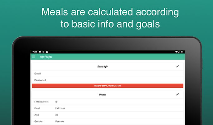 Image 4 of Fitness Meal Planner