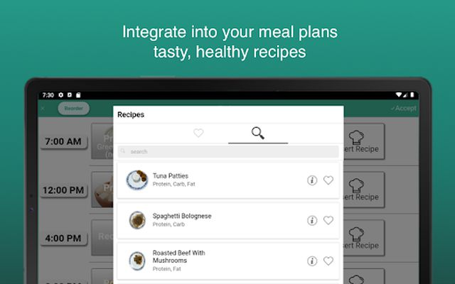 Image 2 of Fitness Meal Planner