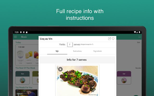 Image from Fitness Meal Planner