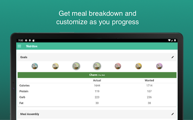 Image 19 of Fitness Meal Planner