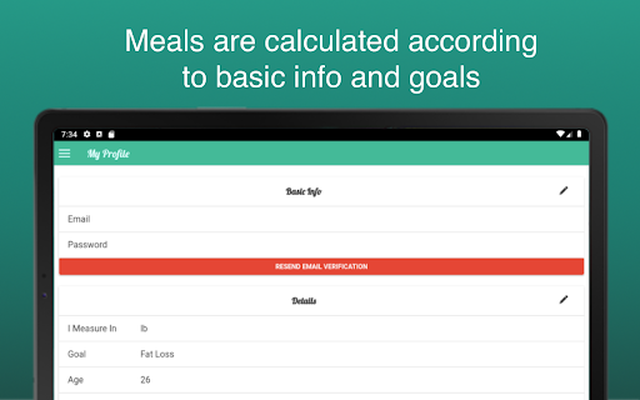 Image 20 of Fitness Meal Planner