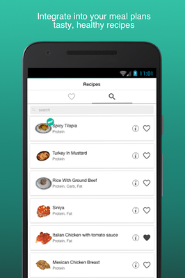 Image 16 of Fitness Meal Planner