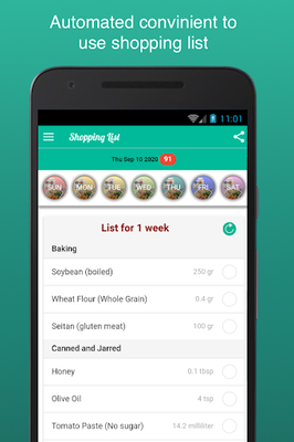 Image 15 of Fitness Meal Planner