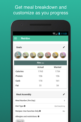 Image 12 of Fitness Meal Planner