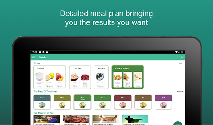 Image 10 of Fitness Meal Planner