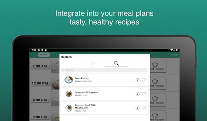 Image 9 of Fitness Meal Planner
