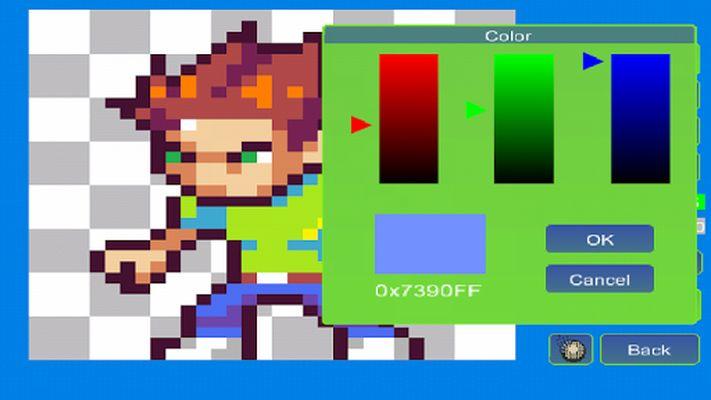 Pixel Animator Screenshot 3: GIF Maker