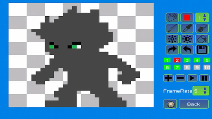 Pixel Animator Image 2: GIF Maker