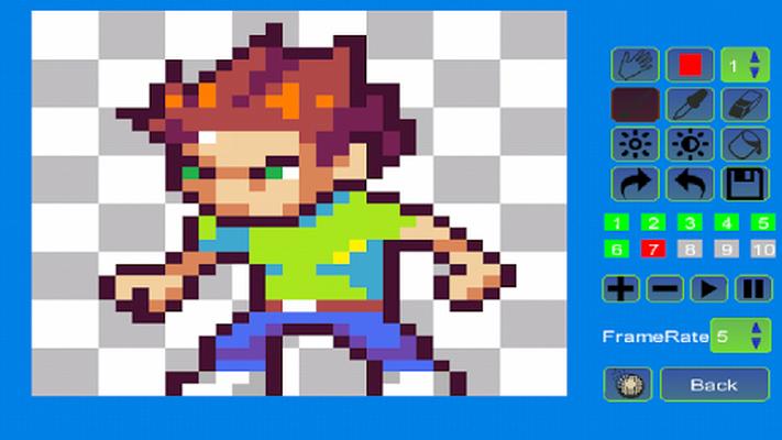 Image 9 of Pixel Animator: GIF Maker