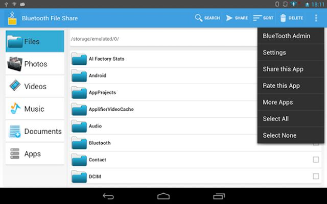 Image 9 of Bluetooth File Share