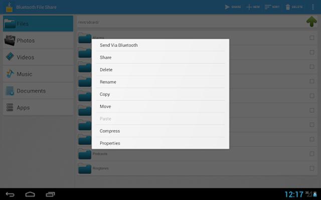 Image 12 of Bluetooth File Share