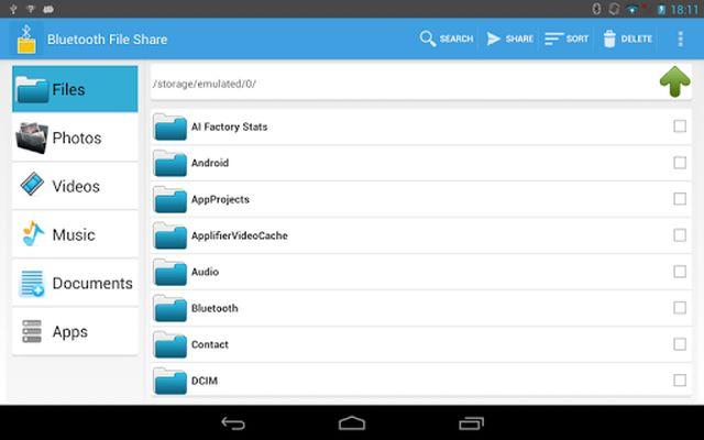 Image 8 of Bluetooth File Share