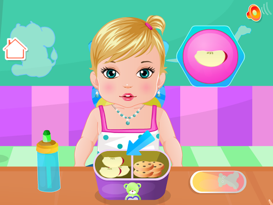 Babypflege Spiele