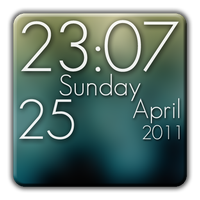 Super Clock Wallpaper Free Simgesi