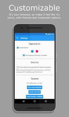 PrivatBrowse Image 3 (4.1+)