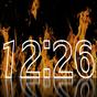 Yangın Saat Duvar Kağıdı 1.9.1
