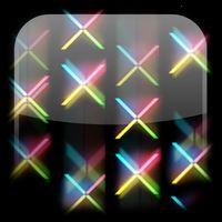 Ícone do Matrix X fundo dinâmicar