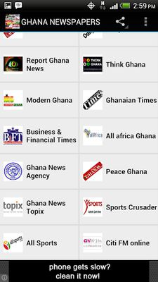 GHANA NEWSPAPERS Image 1