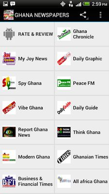 GHANA NEWSPAPERS Image 2