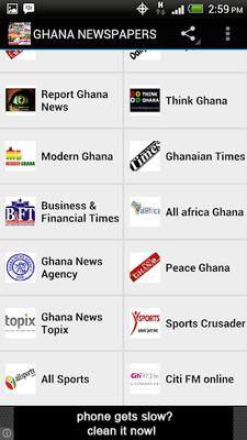 GHANA NEWSPAPERS Image 3