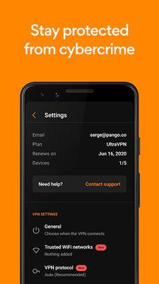 Screenshot 4 of Free VPN Proxy HexaTech - Unblock & Secure Browse