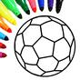 Bóng đá: trẻ em màu trò chơi 13.4.2