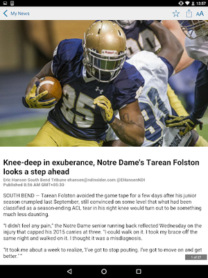 Image 17 from Notre Dame Insider