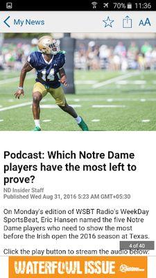 Image 2 of Notre Dame Insider