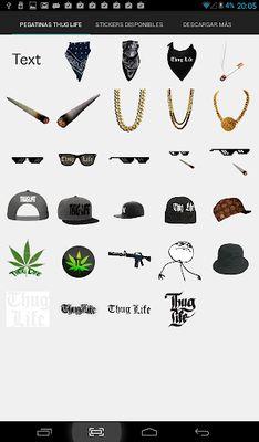 Thug Life Photo Stickers Screenshot apk 9
