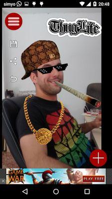 Thug Life Photo Stickers screenshot apk 5
