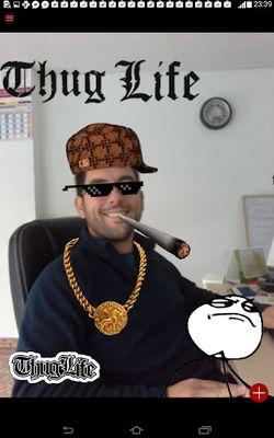 Thug Life Photo Stickers screenshot apk 6